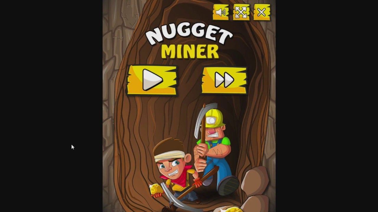 Nugget Miner Dig Your Way Through The Mine To Collect Golden Nuggets Cute Little Kittens Nugget Games To Play