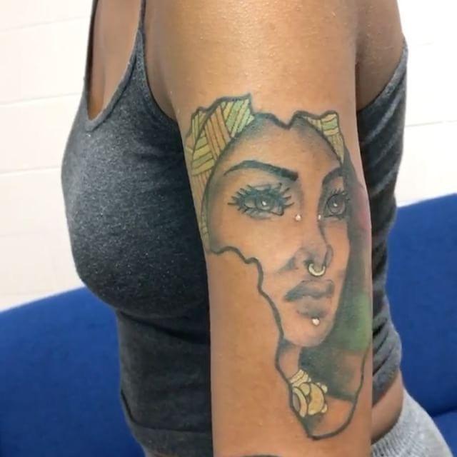 Tattoo Woman Dark: Blessed: ⊱ ⊰ @xoxojamm