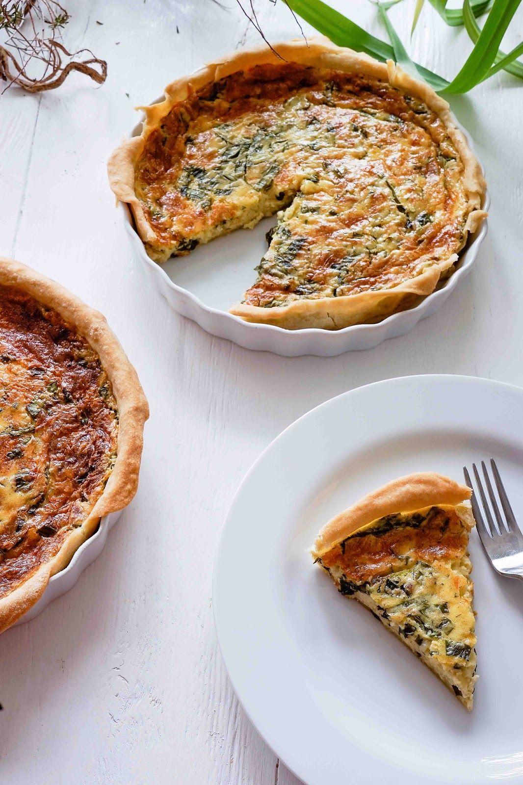 Bärlauch-Käse-Tarte