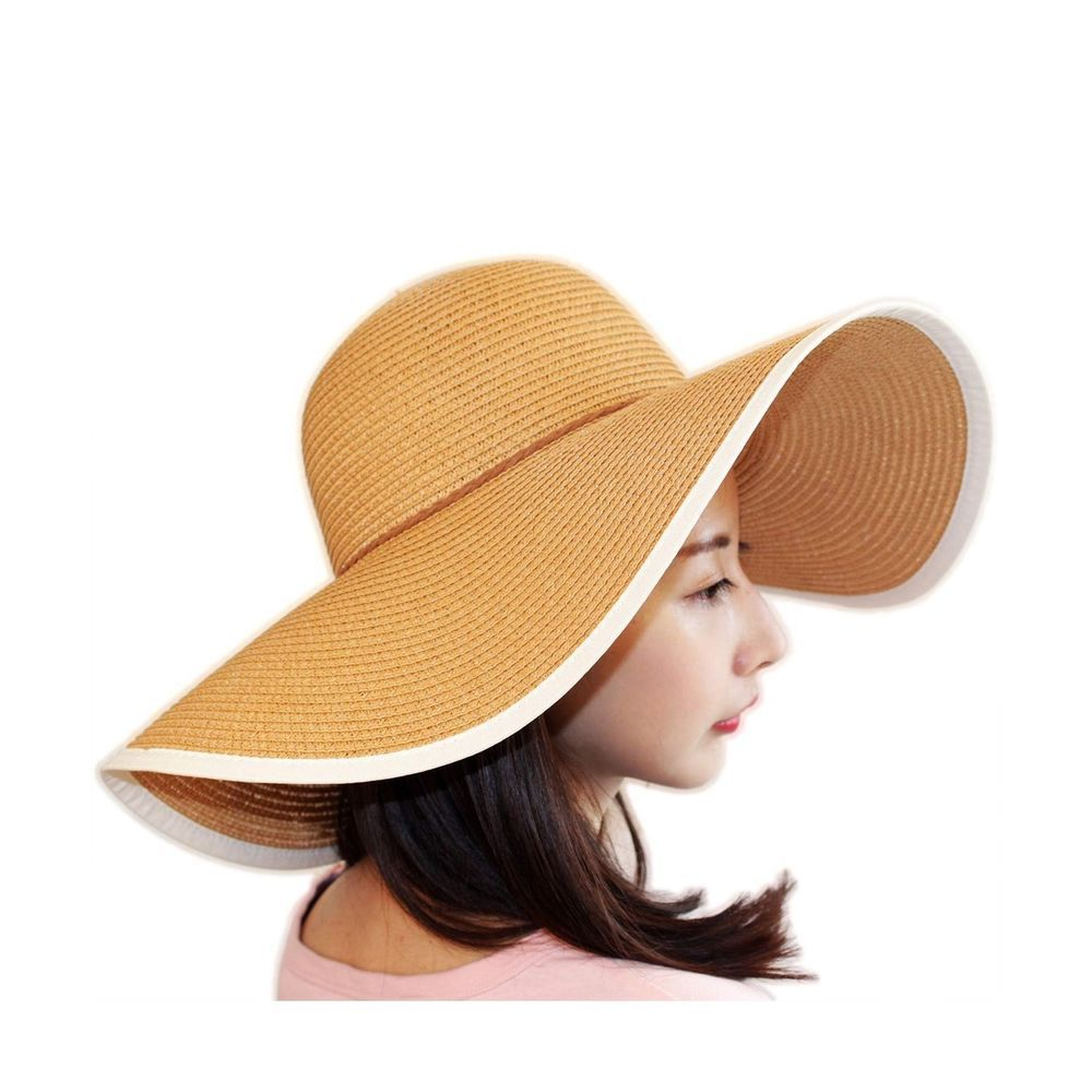 4bddeaabcd0e39 TouchandFeel Women Girls Straw Sun Hat Foldable Floppy Wide Brim Summer  Beach... #fashion #clothing #shoes #accessories #womensaccessories #hats  (ebay link)