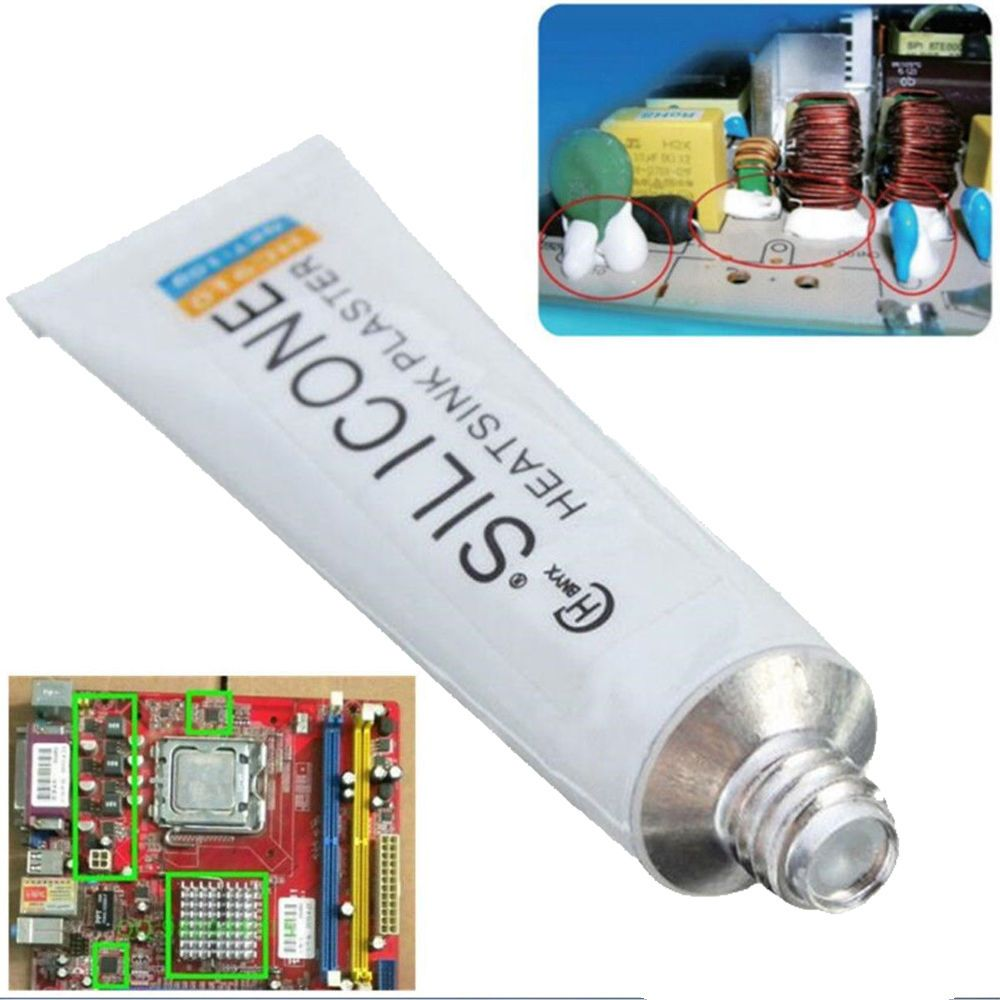 099 Gbp Useful Hc 910 Silicone Thermal Conductive Adhesive Glue Pen Gadgets Other Electronics Ebay Tube Heatsink Plaster