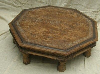 Indian wooden coffee table eBay Tables Pinterest Tables