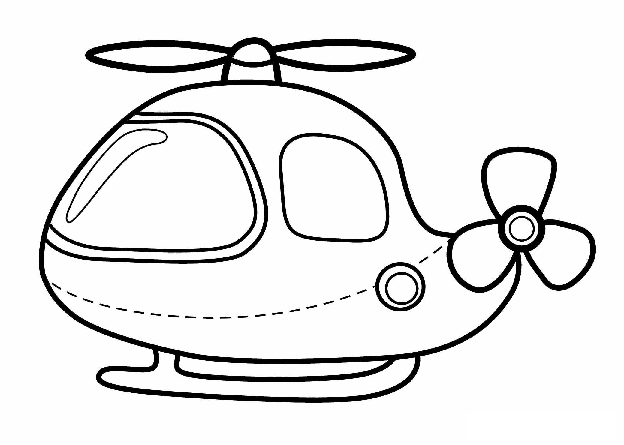 Free Printable Helicopter Coloring Pages For Kids Airplane