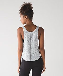 Rush Hour Tank in tiger space dye black white