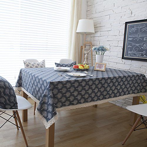Fresh Pasta Tablecloth Rectangular Simple Modern Restaurant Pure Cotton Coffee Table Cloth A 140x200cm 55x7 White Table Cover Table Cloth Christmas Table Cloth