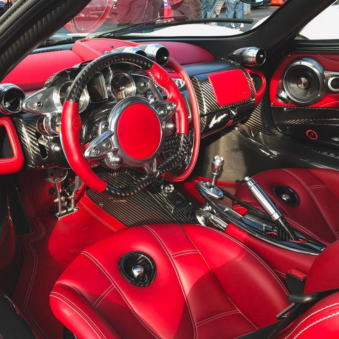 The Interior Of The Pagani Huayra Is Crazy Instagram