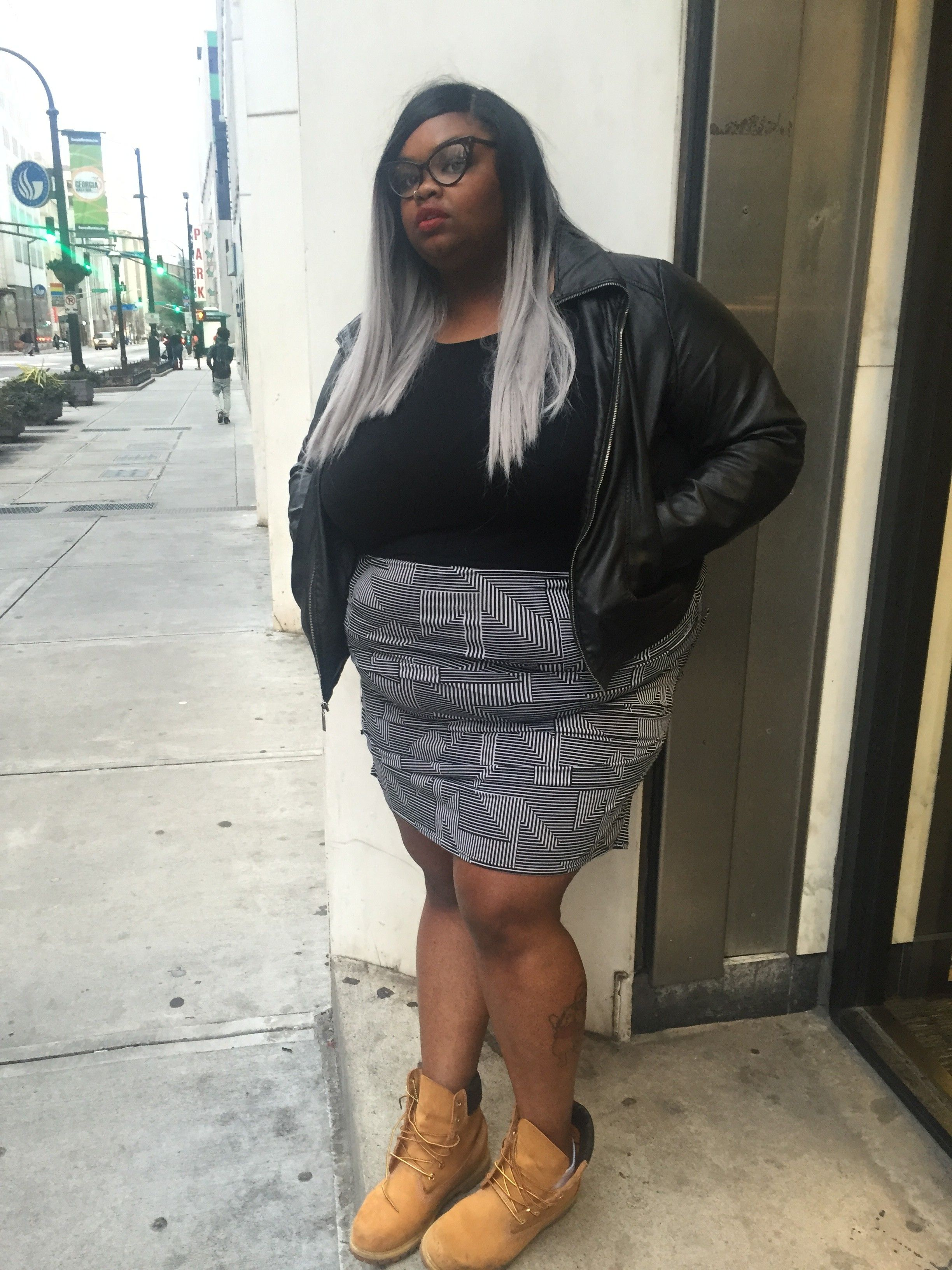 pictures black Funny fat girl