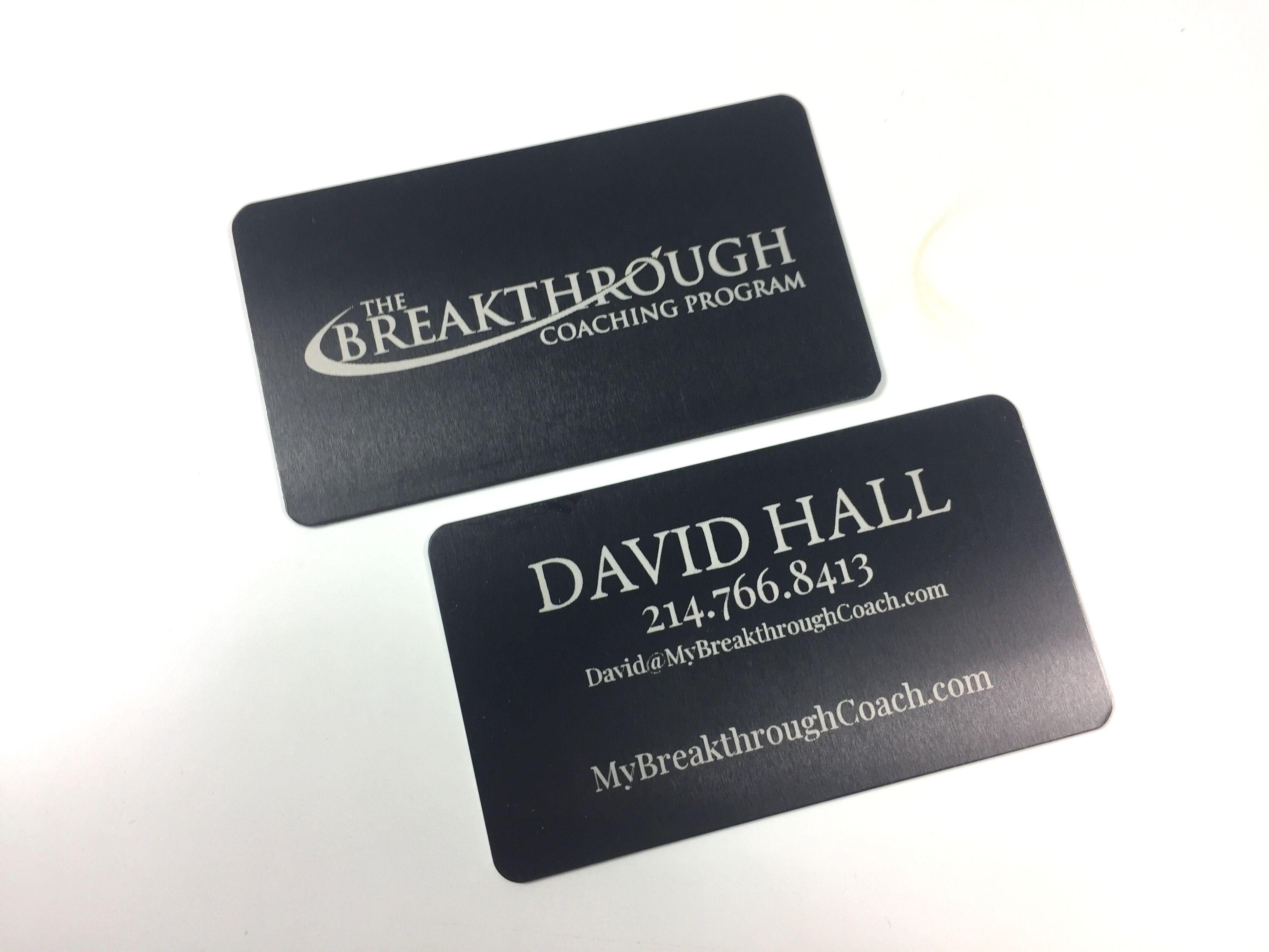 Black Metal Business Card Metal Business Cards Business Cards Creative Laser Engraved Business Cards
