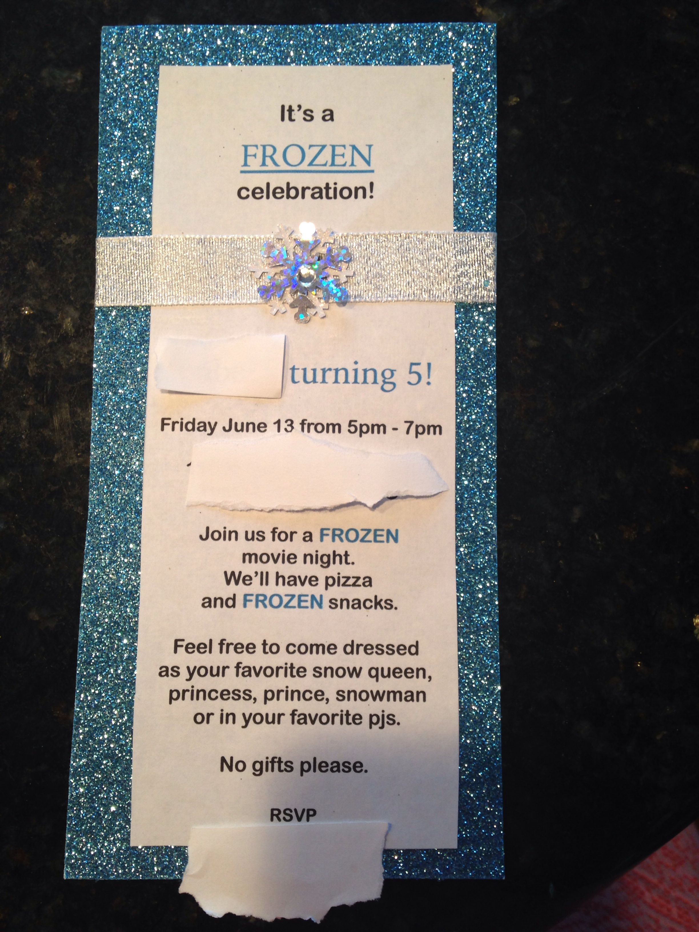 disney u0026 39 s frozen birthday party invite  princess party