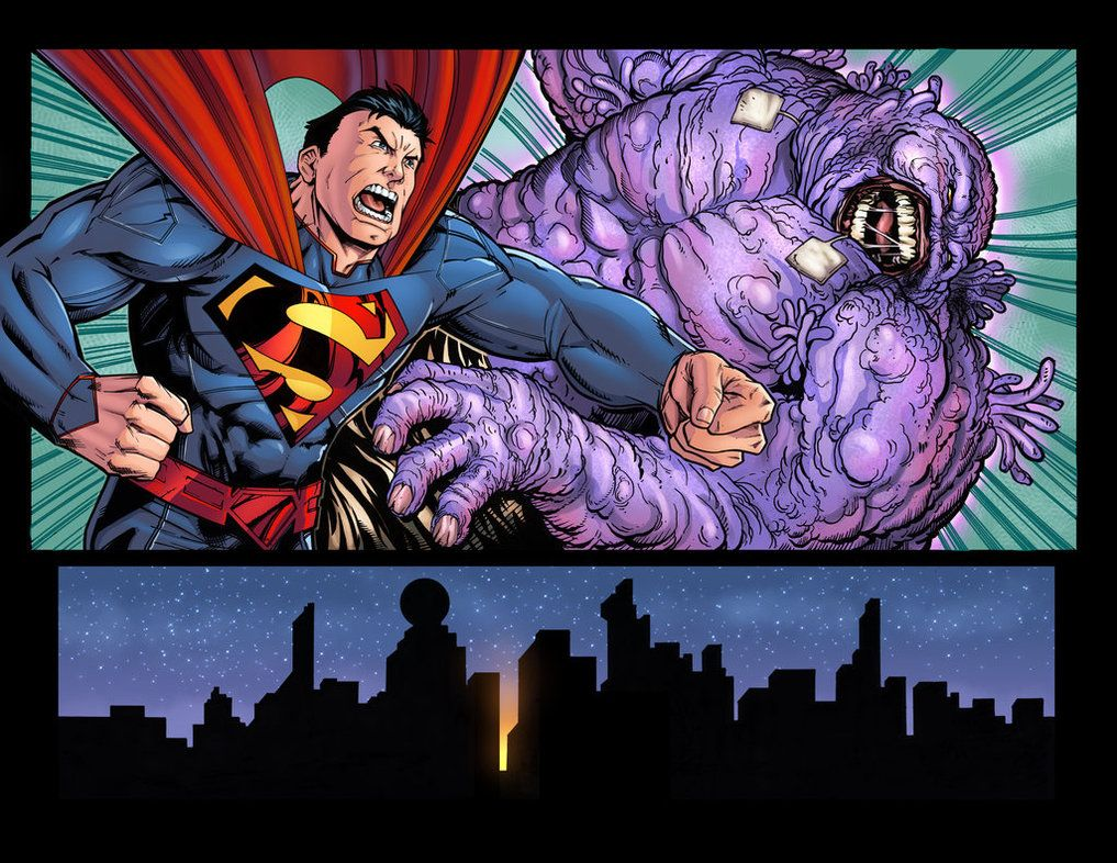 Superman Parasite >> Superman Vs Parasite By Anthony Marques Color By Omi