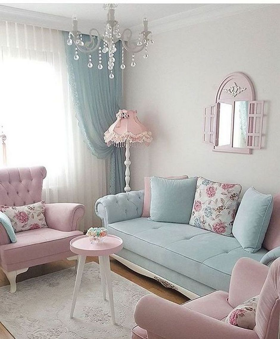 How To Make Cozy Living Room With Colorful Pastel Color Style Hoommy Com Pastel Living Room Shabby Chic Living Room Living Room Decor Apartment #pastel #colors #for #living #room
