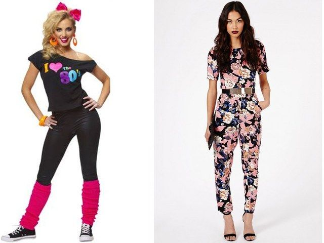 Top 8 trends of today inspired by the 1980s fashion Fashion style in 80 s