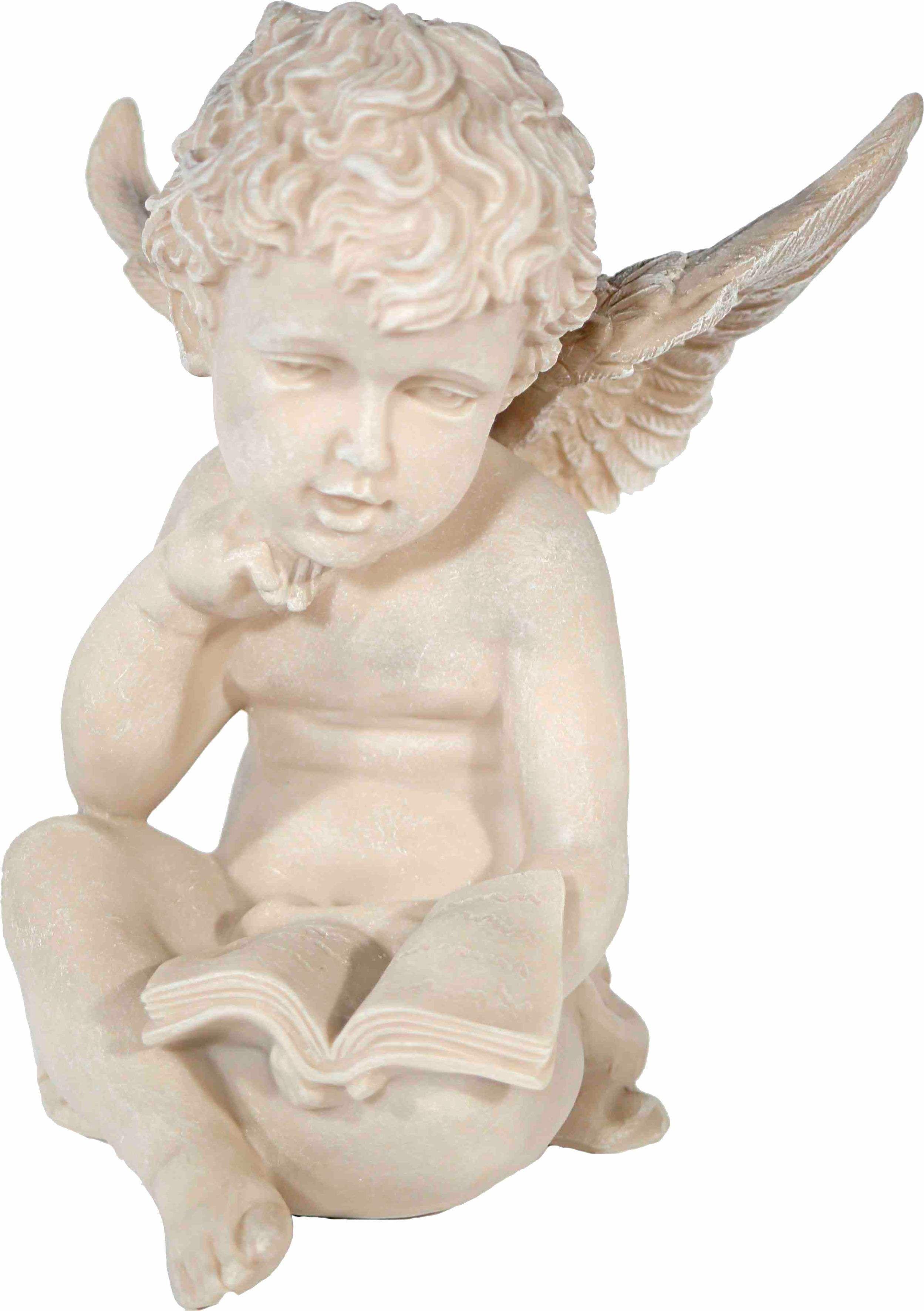 Home affaire Dekofigur »sitzender Engel mit Buch weiß, »sitzender Engel mit Buch, rechte Hand an Kinn, H 19 cm, B 15 cm« Jetzt bestellen unter: https://moebel.ladendirekt.de/dekoration/figuren-und-skulpturen/figuren/?uid=70d847c2-0b12-549b-a058-36b0aee0a8d2&utm_source=pinterest&utm_medium=pin&utm_campaign=boards #figuren #skulpturen #dekoration