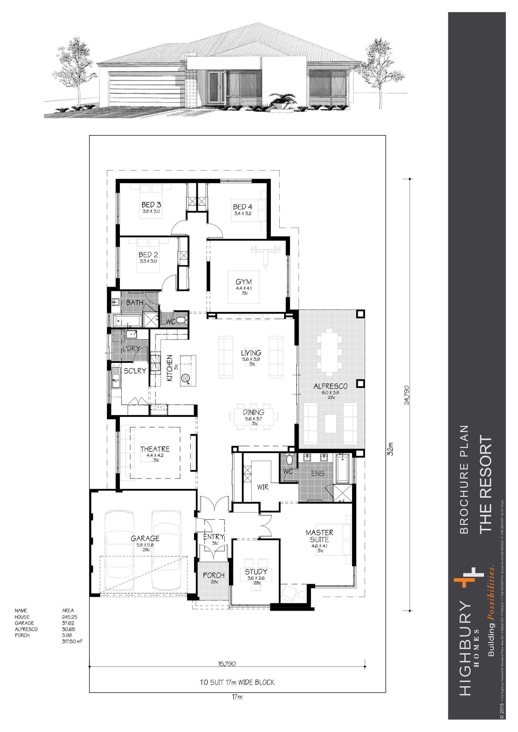 Home Floorplan The Resort Best Small House Designs House Map Small House Design