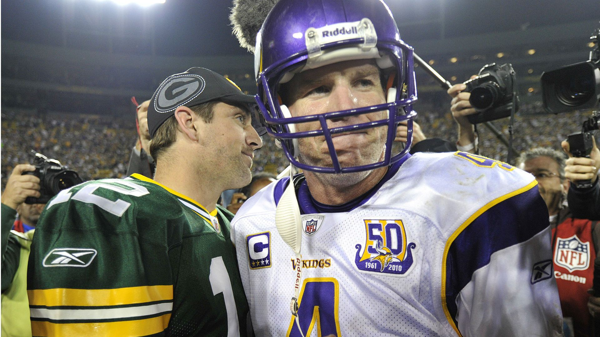 Brett Favre Thinks Aaron Rodgers Wont Finish Career With Packers After Jordan Love Pick The Packers In 2020 Football Fantasy Football Green Bay Packers Aaron Rodgers