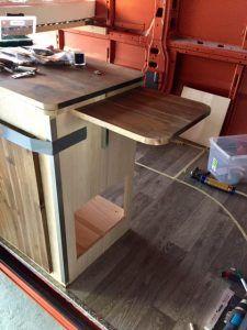Beim Wohnmobil Küchenblock Selber Bauen Hatte Ich Genaue Vorstellungen, Wie  Mein Küchenblock Aussehen Soll