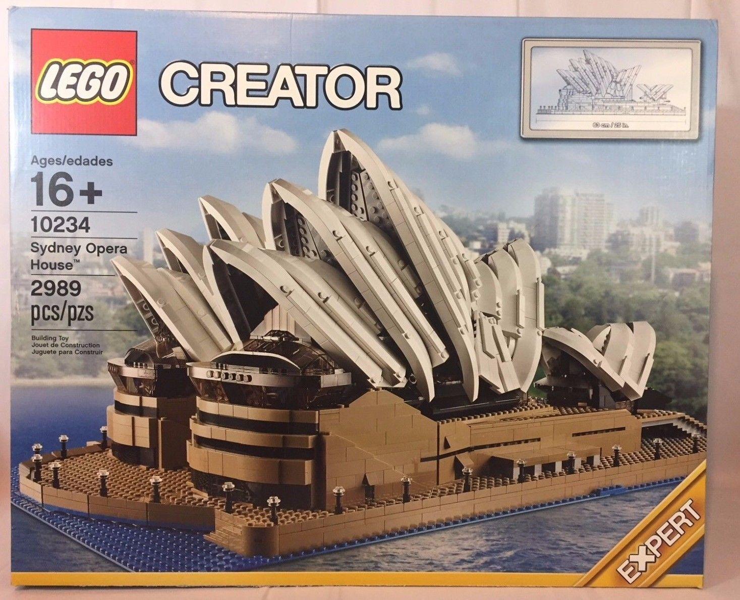 Lego Creator 10234 Sydney Opera House New Sealed Retired Free