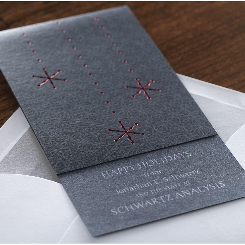 Snowfall Corporate Holiday Card by Checkerboard Ltd. | HOLIDAY ...
