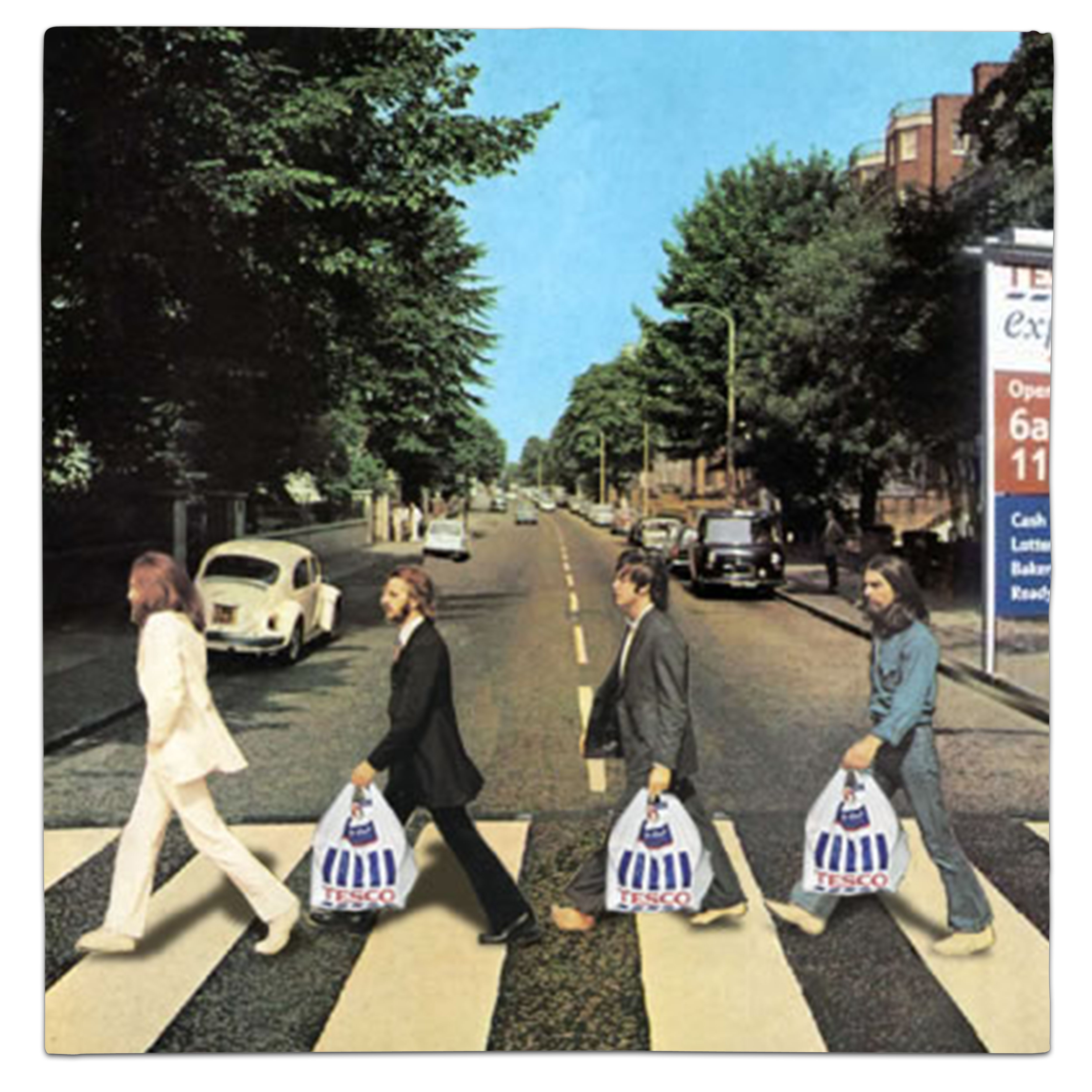 The Beatles John Lennon Paul McCartney George Harrison Ringo Starr Abbey Road By Barbarossa Whythelongplayface