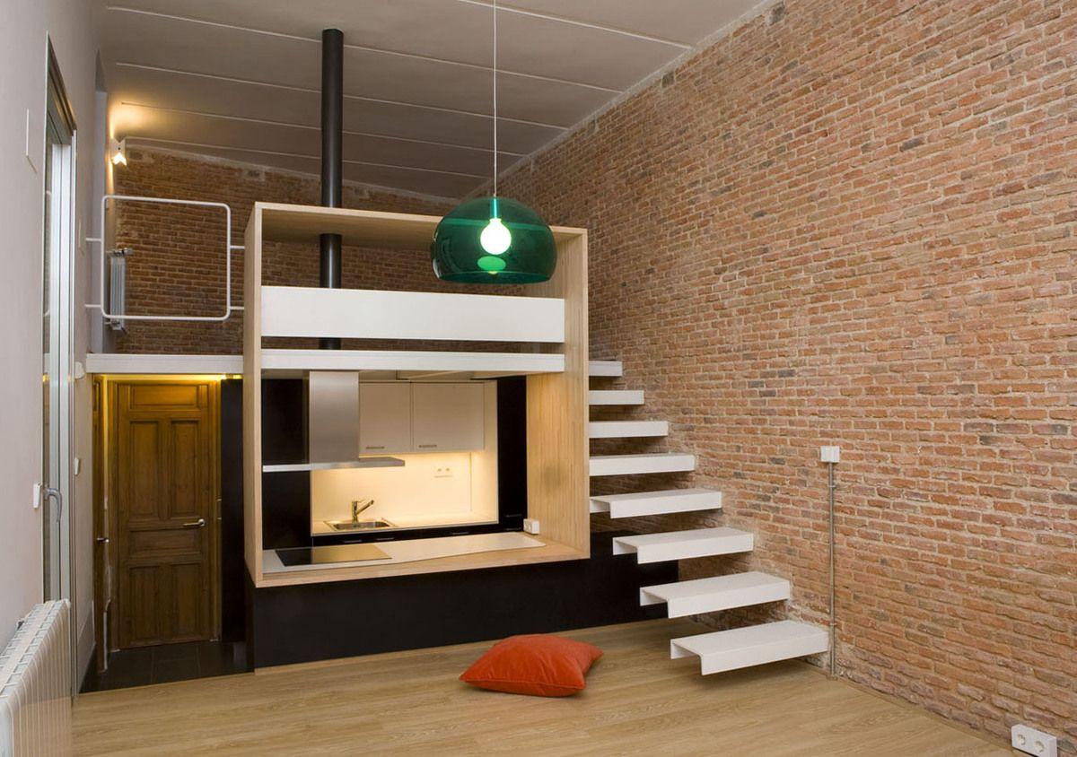 Stunning Innenarchitektur Industriellen Stil Karakoy Loft Pictures ...