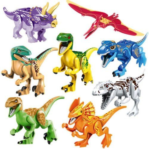 Dinosaur Rex Tyrannosaurus Jurassic World Park  Building LEGO