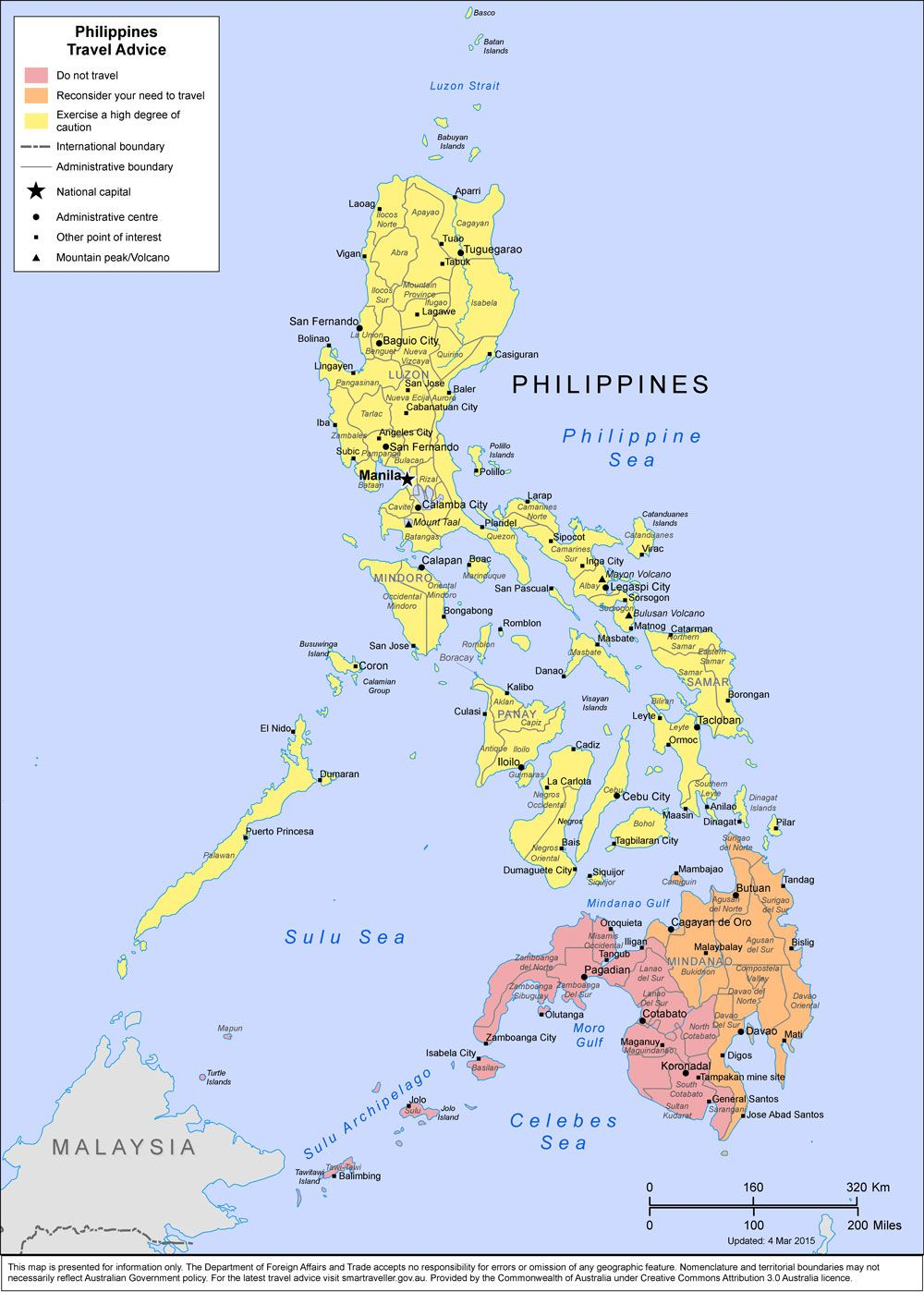 Philippines Travel advice Smartraveller The