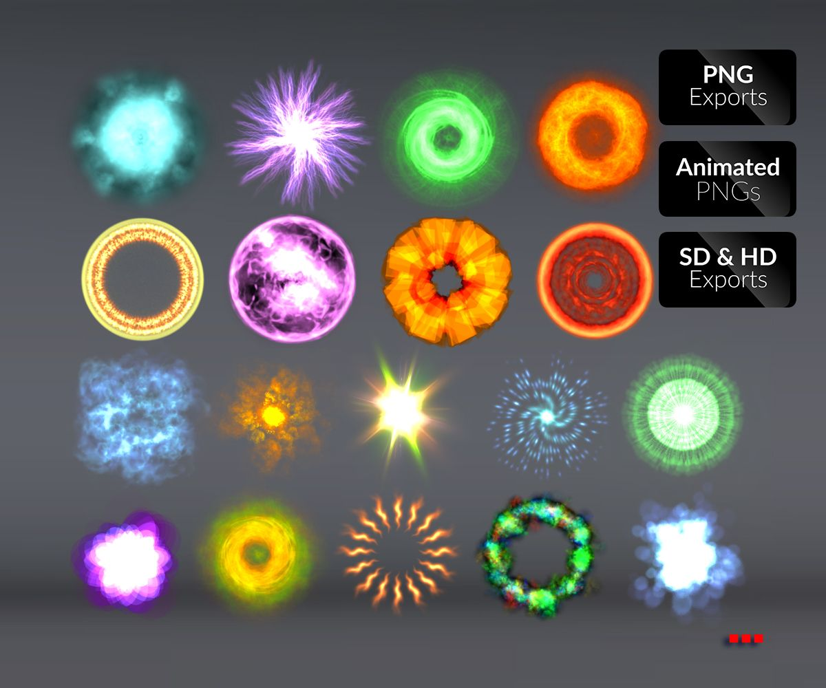 Particle Fx Vol 01 Game Art Partners Frame By Frame Animation Game Art Art Partner