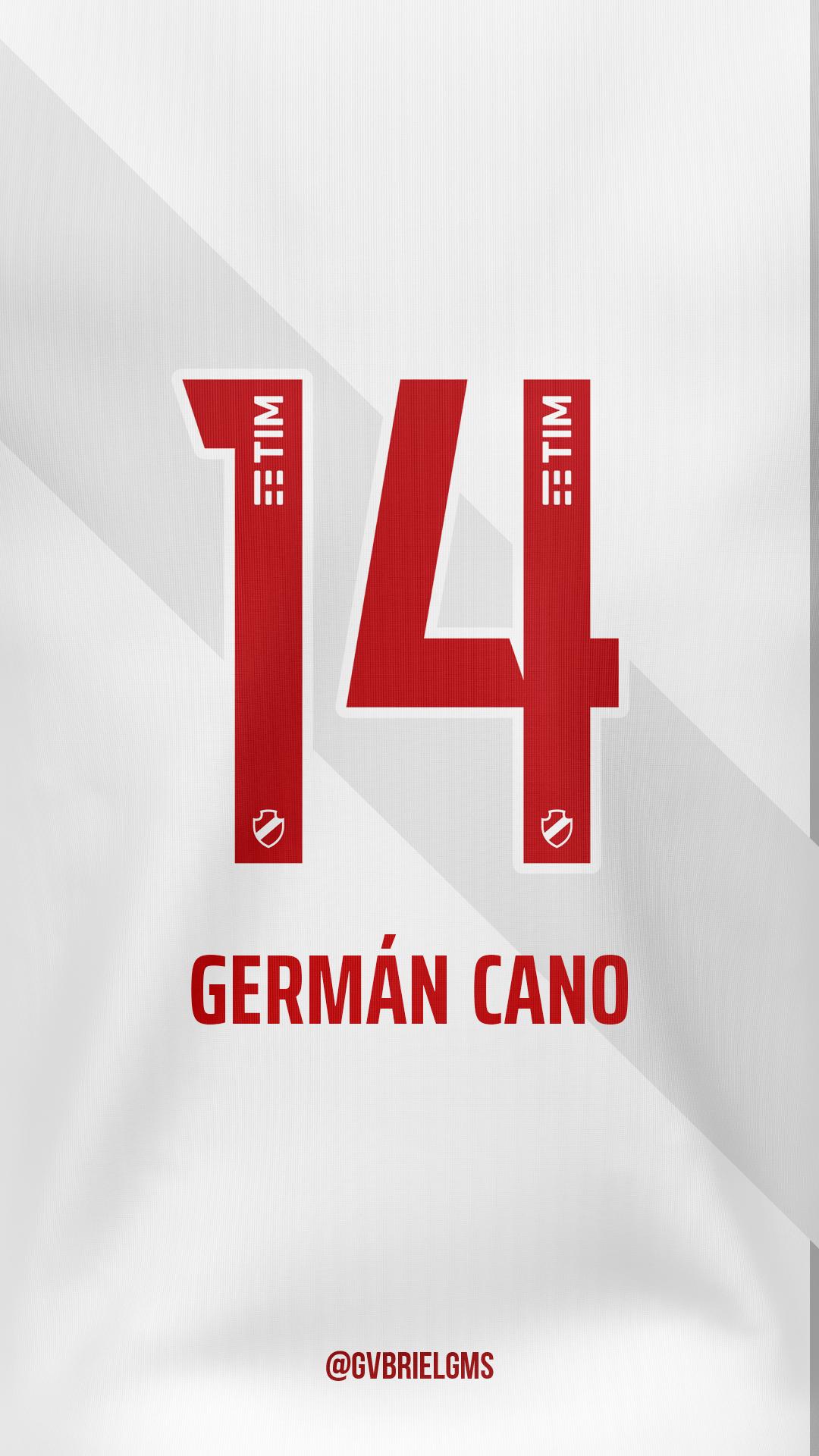 Camisa 14 Vasco Germán Cano em 2020