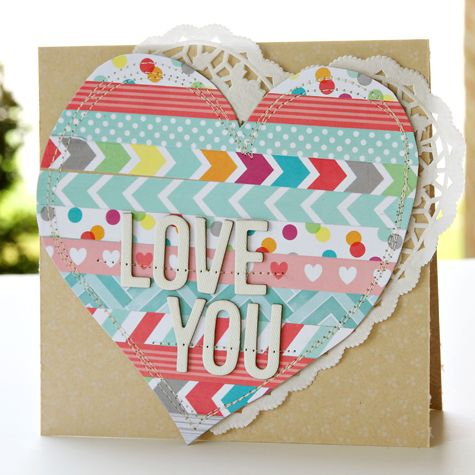 ♥ this card by Corrie Jones!!! ♥ ♥ ♥   American Crafts Blog