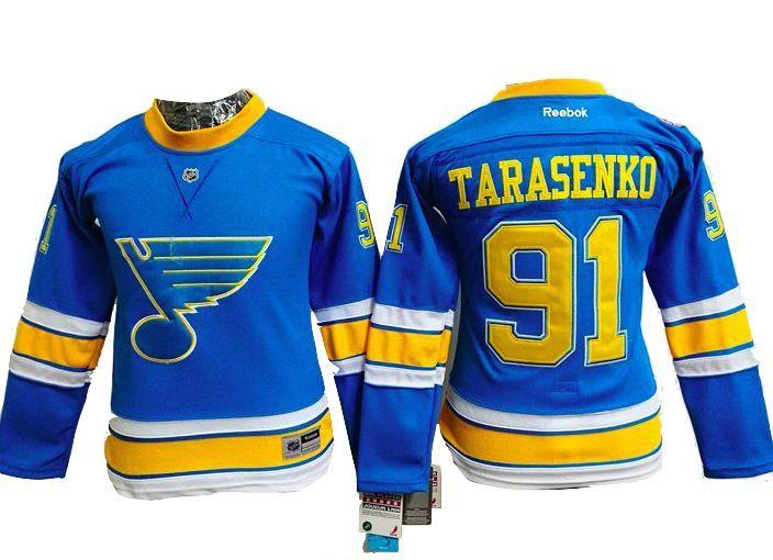 brand new ca055 b13a9 St. Louis Blues Jersey - WOMENS #91 Vladimir Tarasenko Blue ...