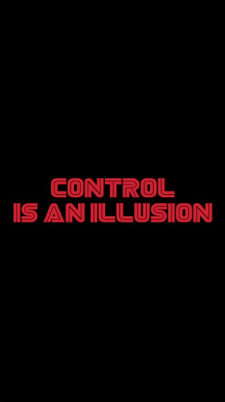 Mr. Robot Control Is An Illusion Wallpaper