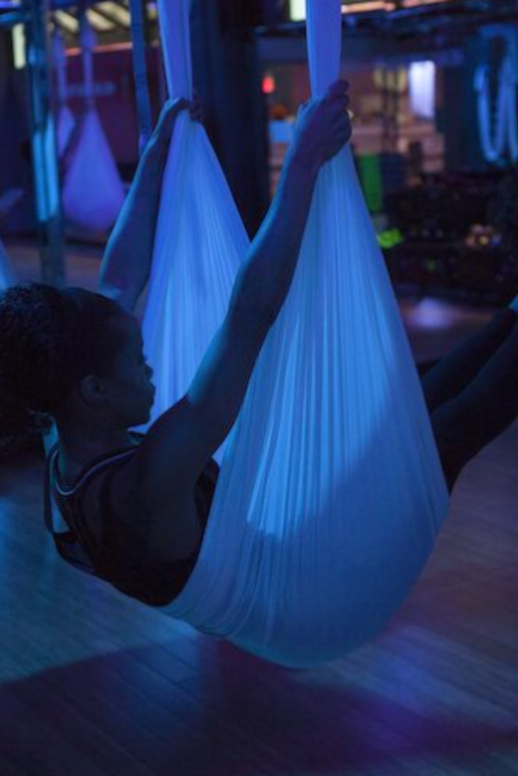 You basically take a nap during this new fitness class