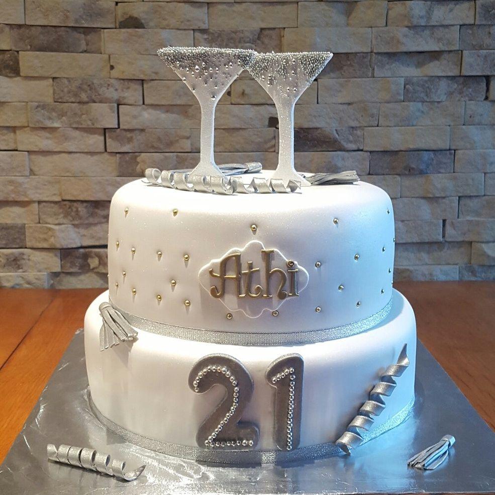 Sensational 25 Amazing Picture Of 21St Birthday Cake Ideas For Her Sutik Funny Birthday Cards Online Necthendildamsfinfo