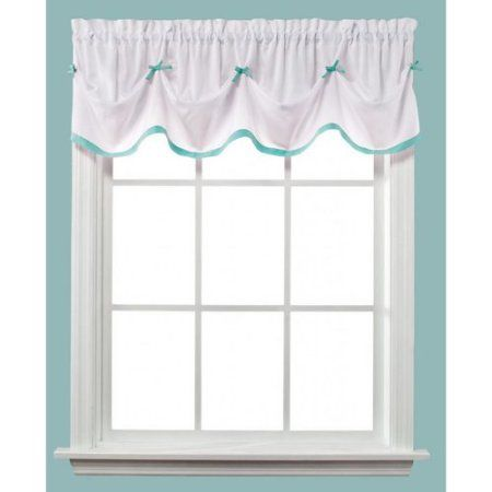 Saturday Knight Kayla Turquoise Tuck Valance