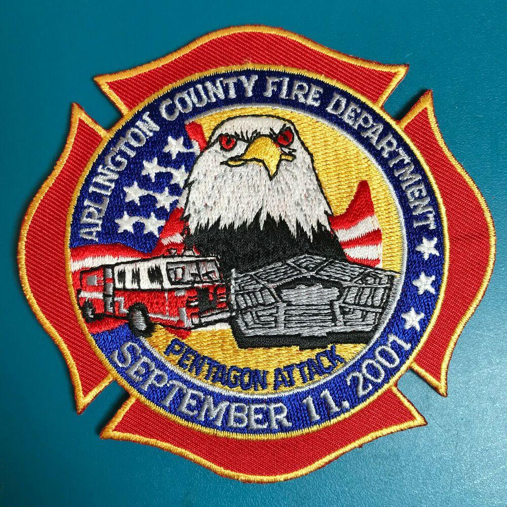 Arlington County VA Fire Dept Sept 11th 2001 Pentagon
