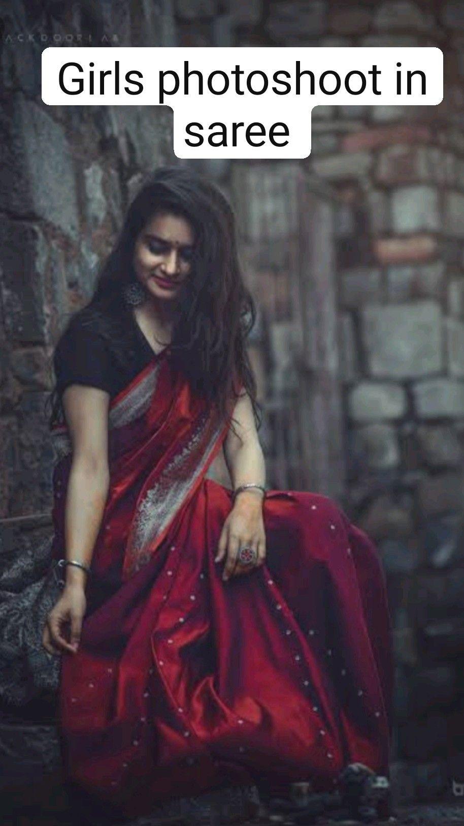 Girls photoshoot in saree