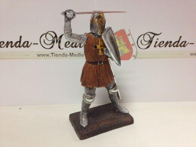 Figuras En Miniatura De Guerreros Templarios Templarios Miniaturas Guerreros