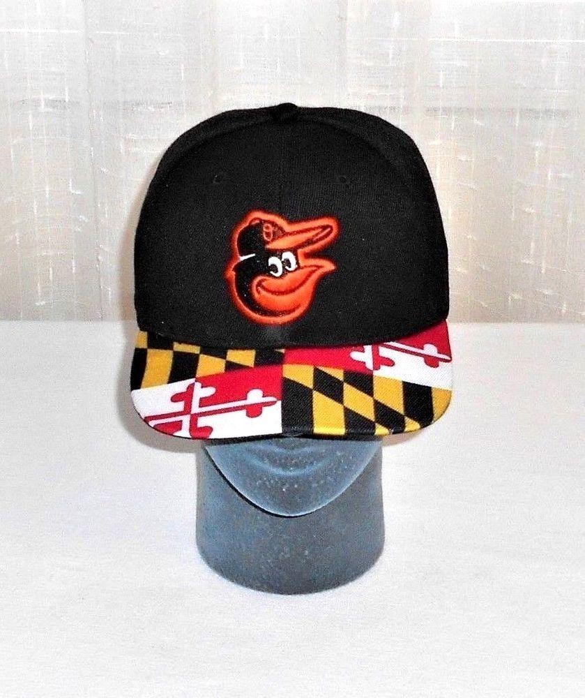 super popular e453b 305b0 Baltimore Orioles Maryland Flag Dap Vented Snapback Hat Cap   UnbrandedCannotDetect  BaltimoreOrioles
