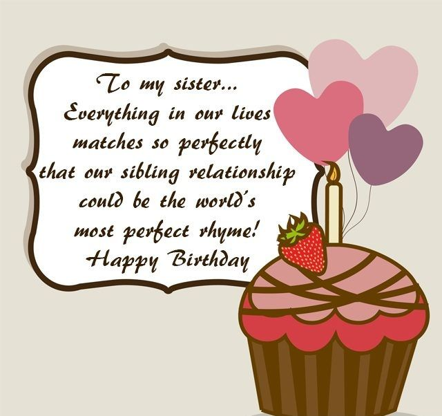 Sister Birthday Quotes | Birthday Message For Sister Birthday Wishes Happy Birthday