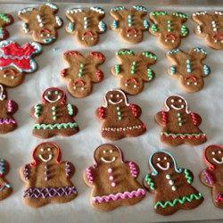 gingerbread boys allrecipescom christmas recipes pinterest allrecipes gingerbread and christmas cookies