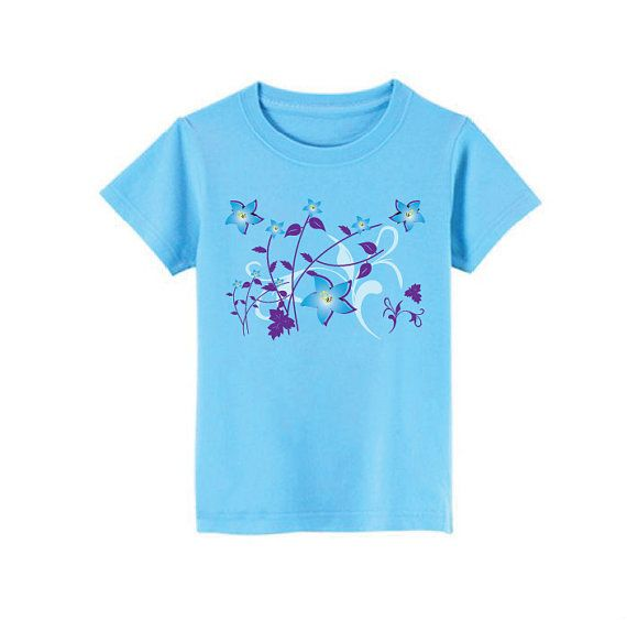 Flowers TShirt for children  available in many sizes by SoorDesign, €13.00