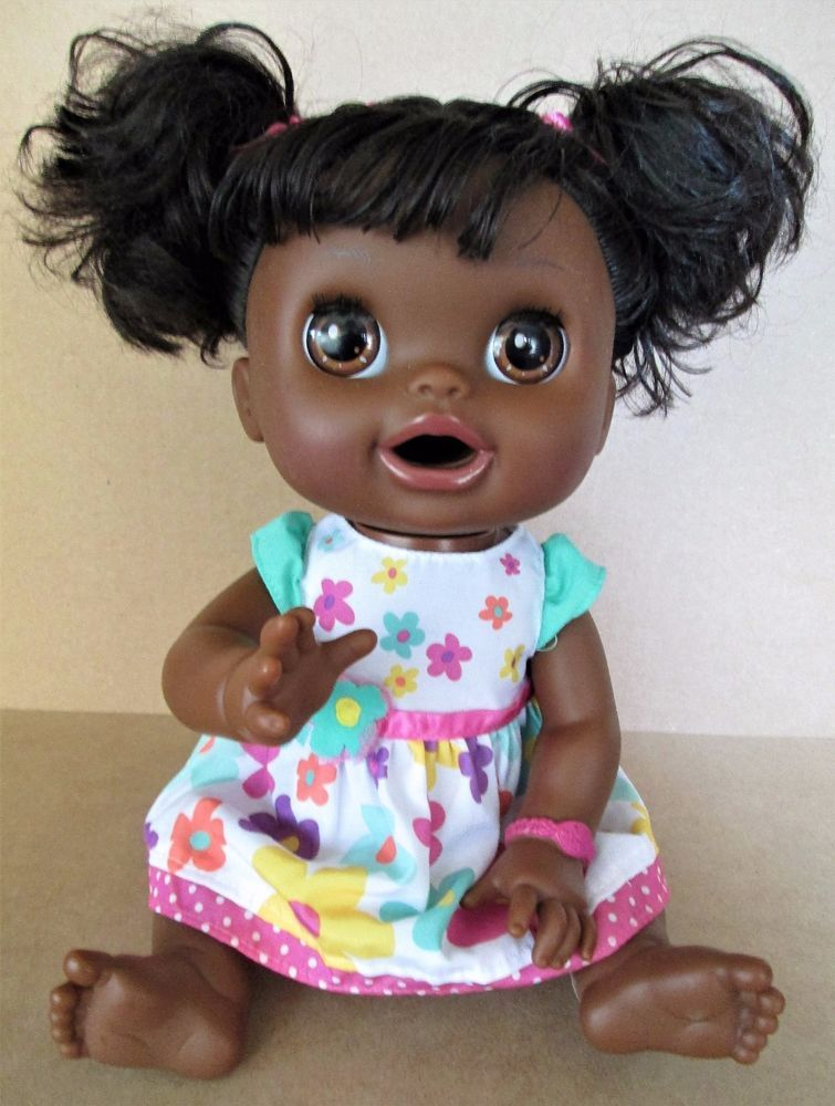 Baby Alive Real Surprises African American Interactive Bilingual Talking Doll Hasbro Babyalive Baby Alive African American Babies African American