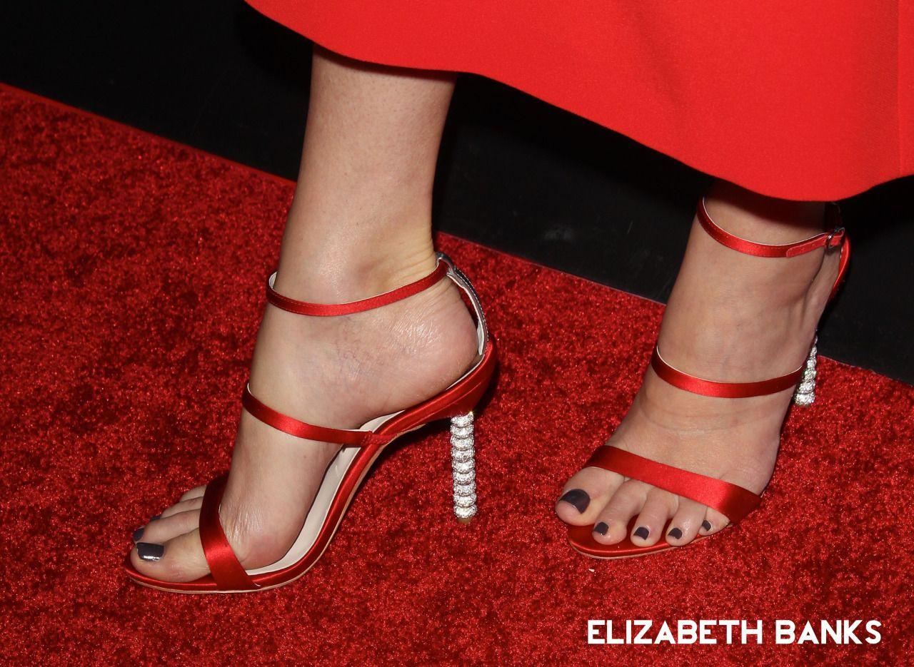World Sexiest Feet Elizabeth Banks Beautiful Feet Feet