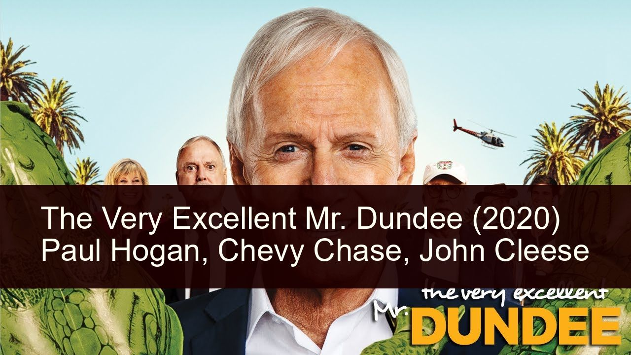 The Very Excellent Mr Dundee 2020 In 2020 Dundee Luke Bracey Paul Hogan