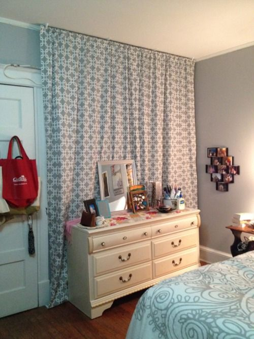 curtains to cover walls