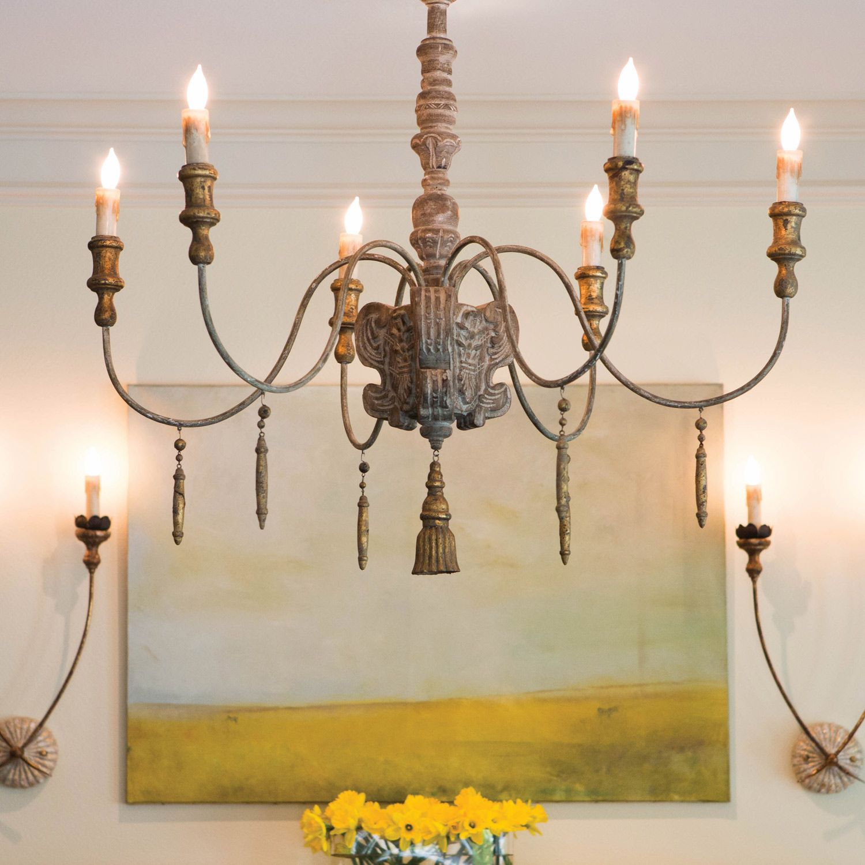Wall Light Chandelier: Aidan Gray Lighting Hasselt Wall Sconce @Sarah Chintomby