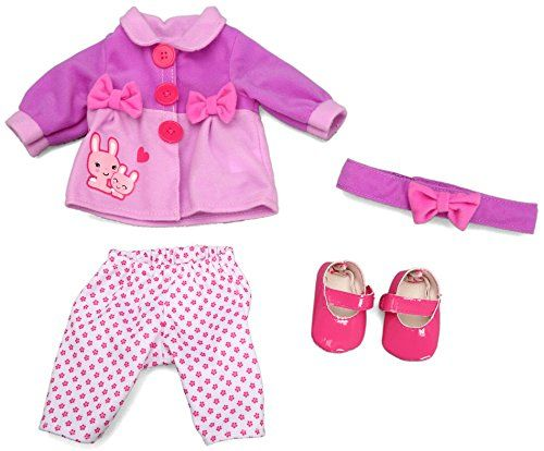 "Baby Alive Clothes At Toys R Us Interesting Baby Alive Doll Fashion Bunnies N Bow Set Fits 12""  14"" Dolls Baby Review"
