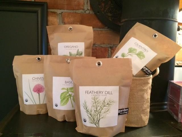 These fantastic Garden In a Bag items are a great gift for those Mother's who have a green thumb. These delicious herbs can be grown right in the bag!  Available through Endless Ideas Interiors #EndlessIdeas