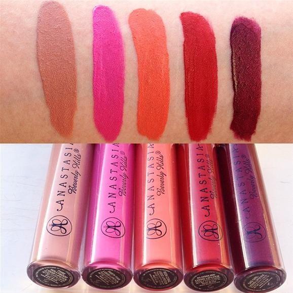 Women Makeup Sweet Anastasia Liquid Lipstick Matte Lipgloss ...