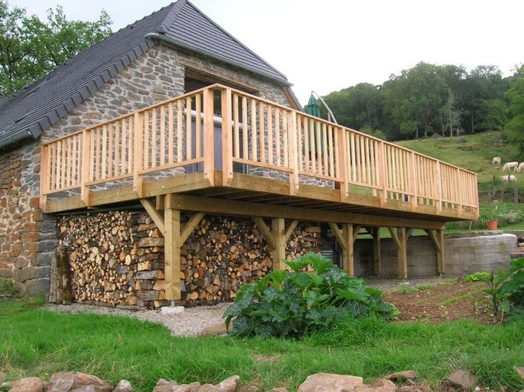 Terrassen Auf Standerwerk Holzterrasse Die Bauanleitung Zum Selber Bauen Mel Anie Anie Auf Bauanleitun Holzterrasse Balkon Bauen Balkon Selber Bauen